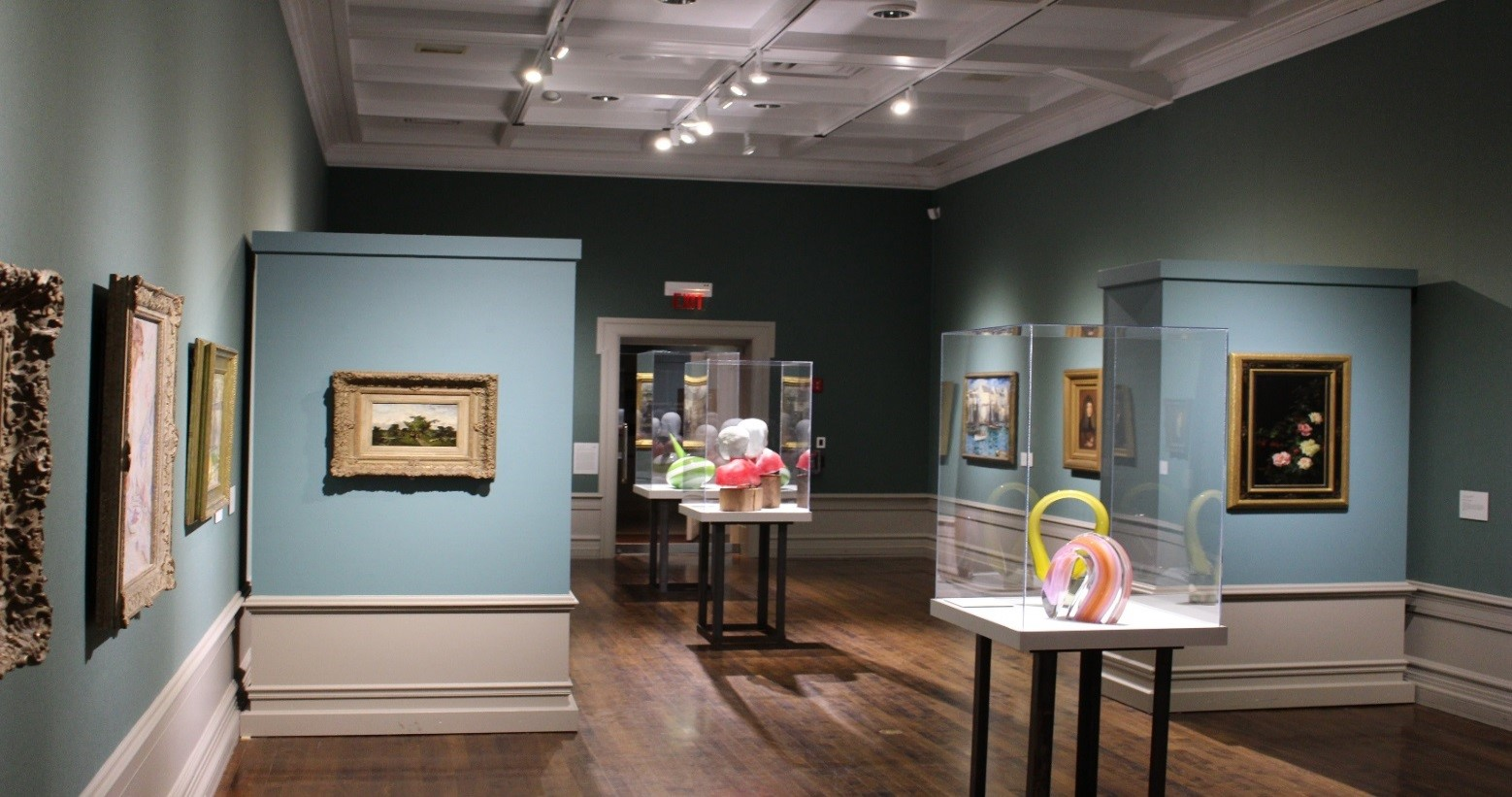 A Gallery in the Muskegon Museum of Art
