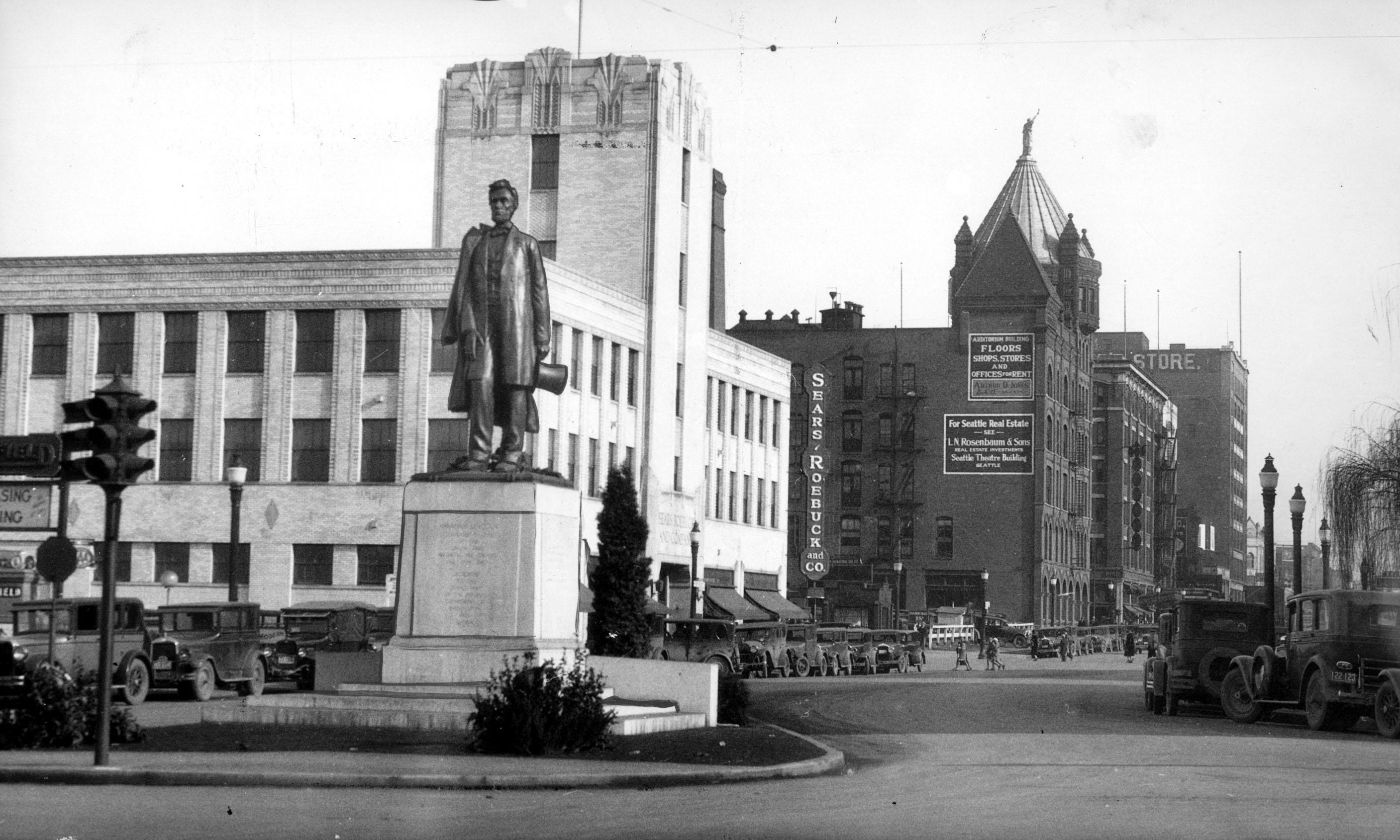 1931 photo via Spokesman-Review archives.