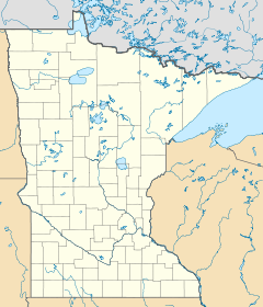 Map showing where Grand Portage is located.
