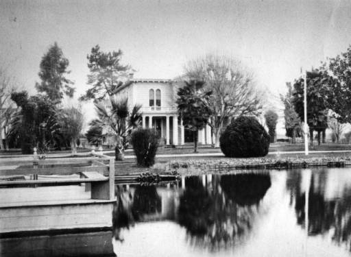 James Lick Mansion as it looked in 1860