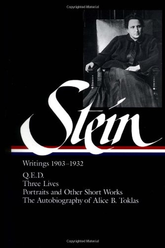 Gertrude Stein: Writings, 1903 to 1932-Click the link below for more information about this book
