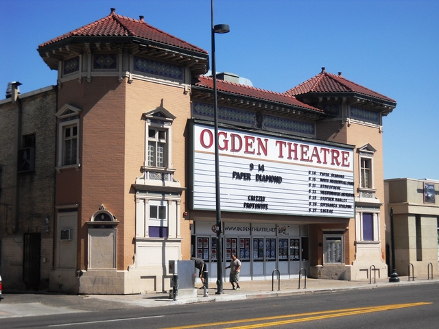 Current photo of The Ogden Theatre music venue