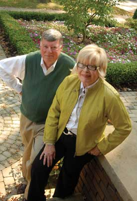 Verna K. Gibson and her husband Jim