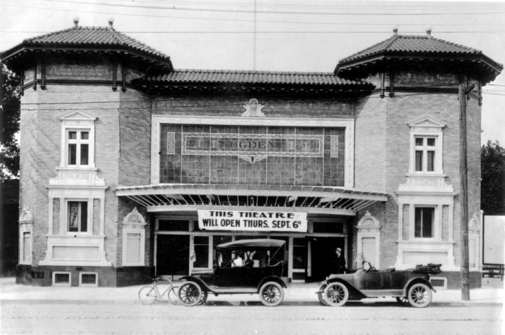 The Ogden Movie Theatre in 1917