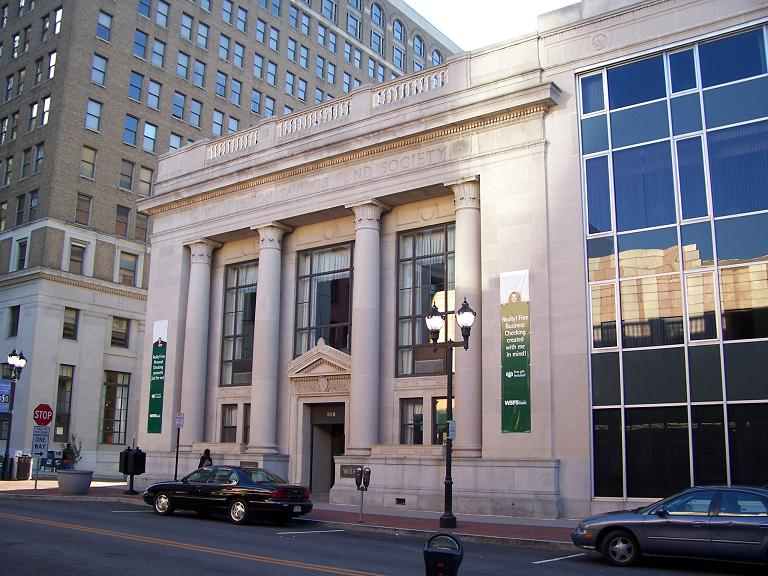 2005 image of the Wilmington Savings Fund Society Building, shortly before the bank moved to 500 N. Delaware.