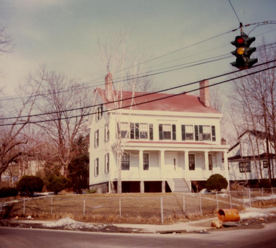John Stevens House in the 1970s.