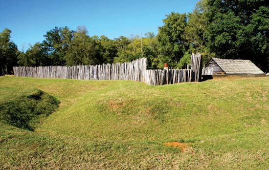 One of the battle forts that visitors can expect to see on their visit.