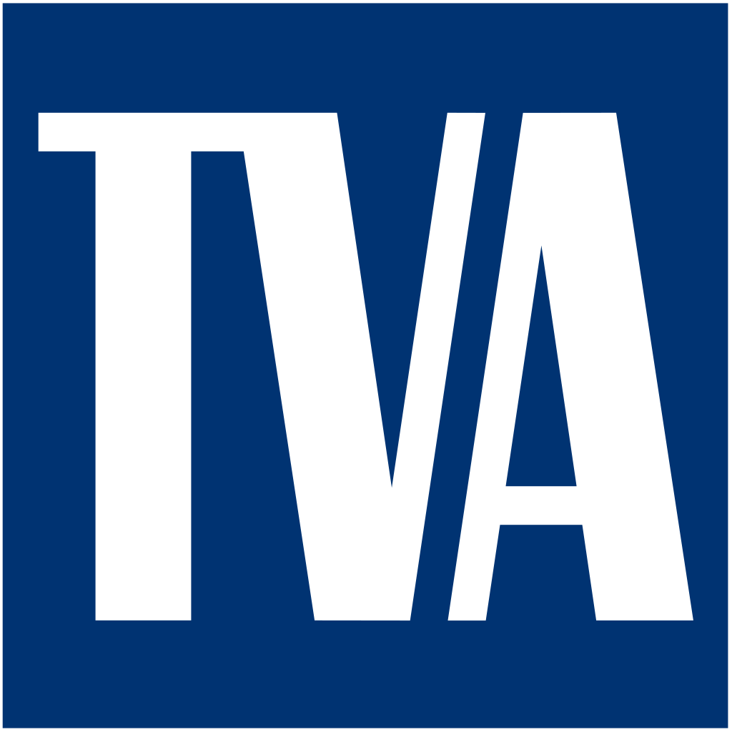 The logo of the Tennessee Valley Authority