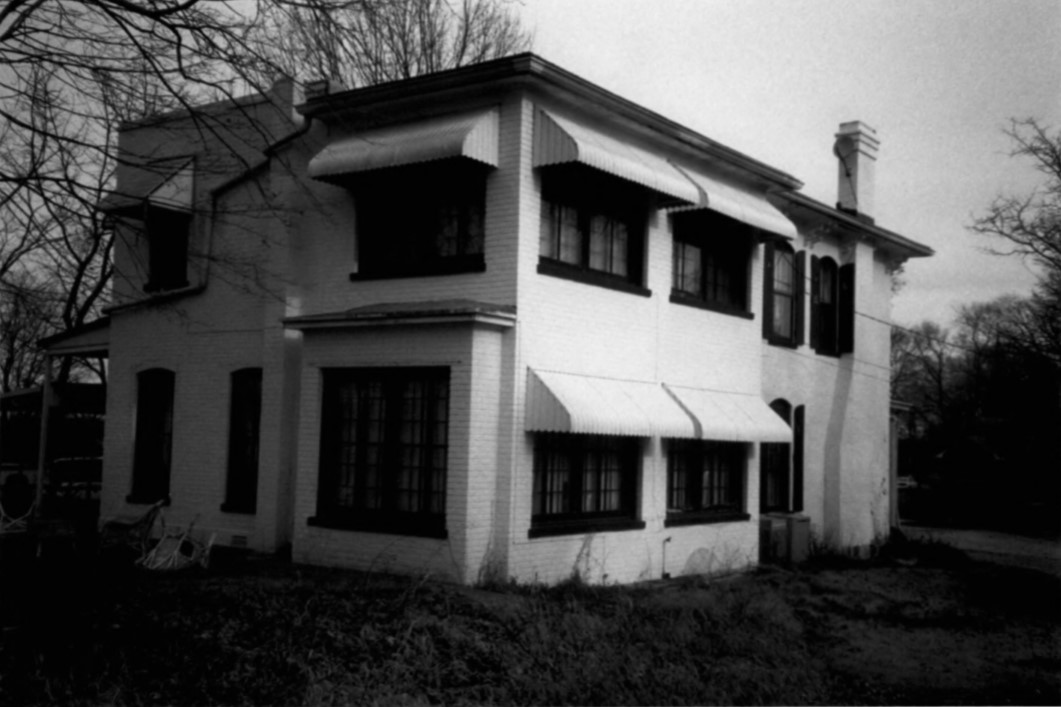2002 photo of rear additions to Gertrude and Nelson Burch House (Beetem)
