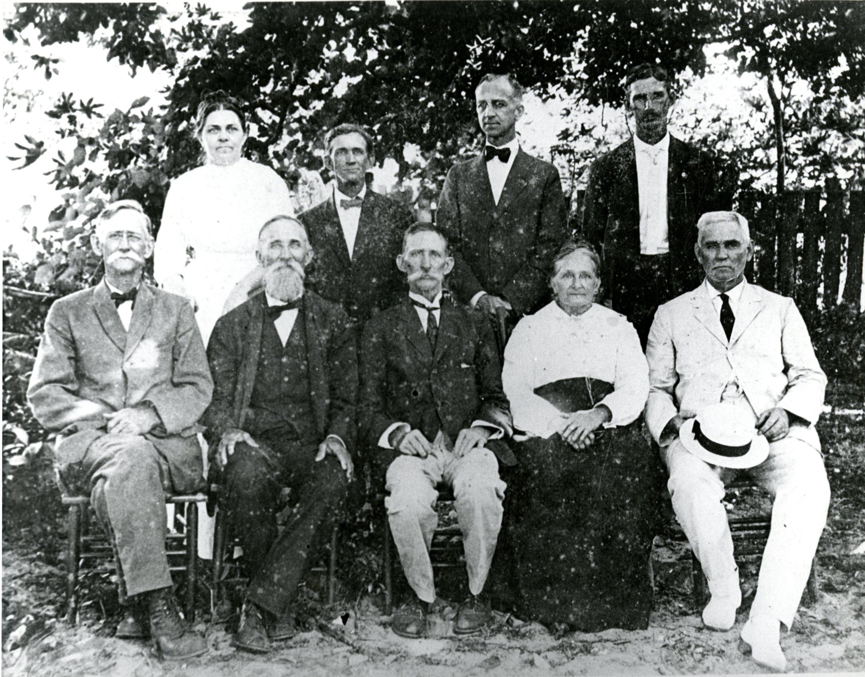 Adult children of Daniel and Margaret McMullen, circa 1920.