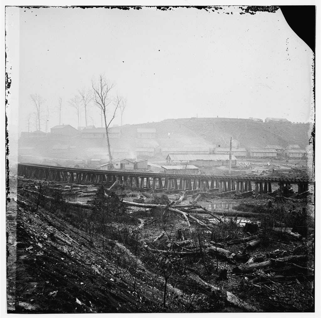 The Johnsonville Depot After the Battle, November 1864