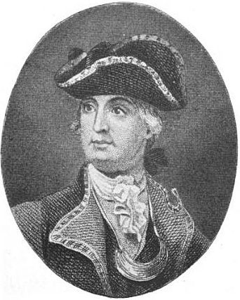 Major General Robert Howe, in command of the rebel militia occupying Norfolk.