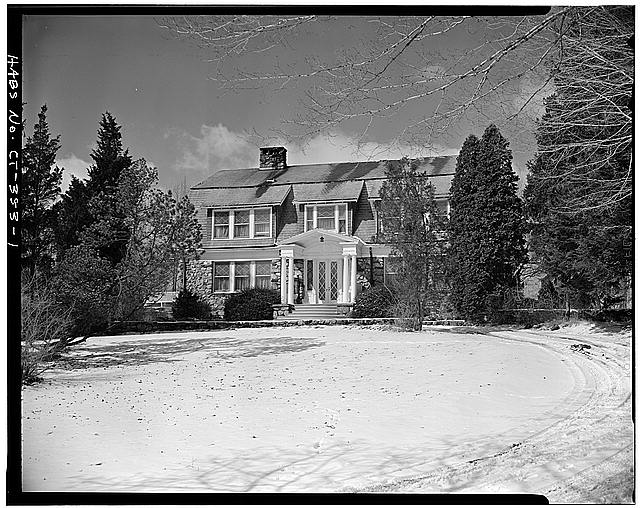 Frederic Remington only lived in the home he designed for the last few months of his life in 1909.