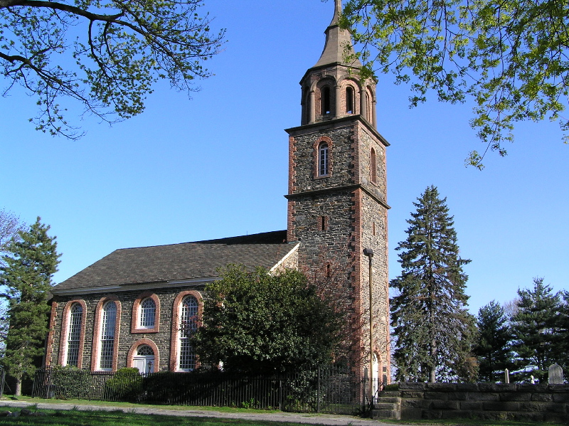Saint Paul's Church, which was used as a hospital for the British Army following the battle