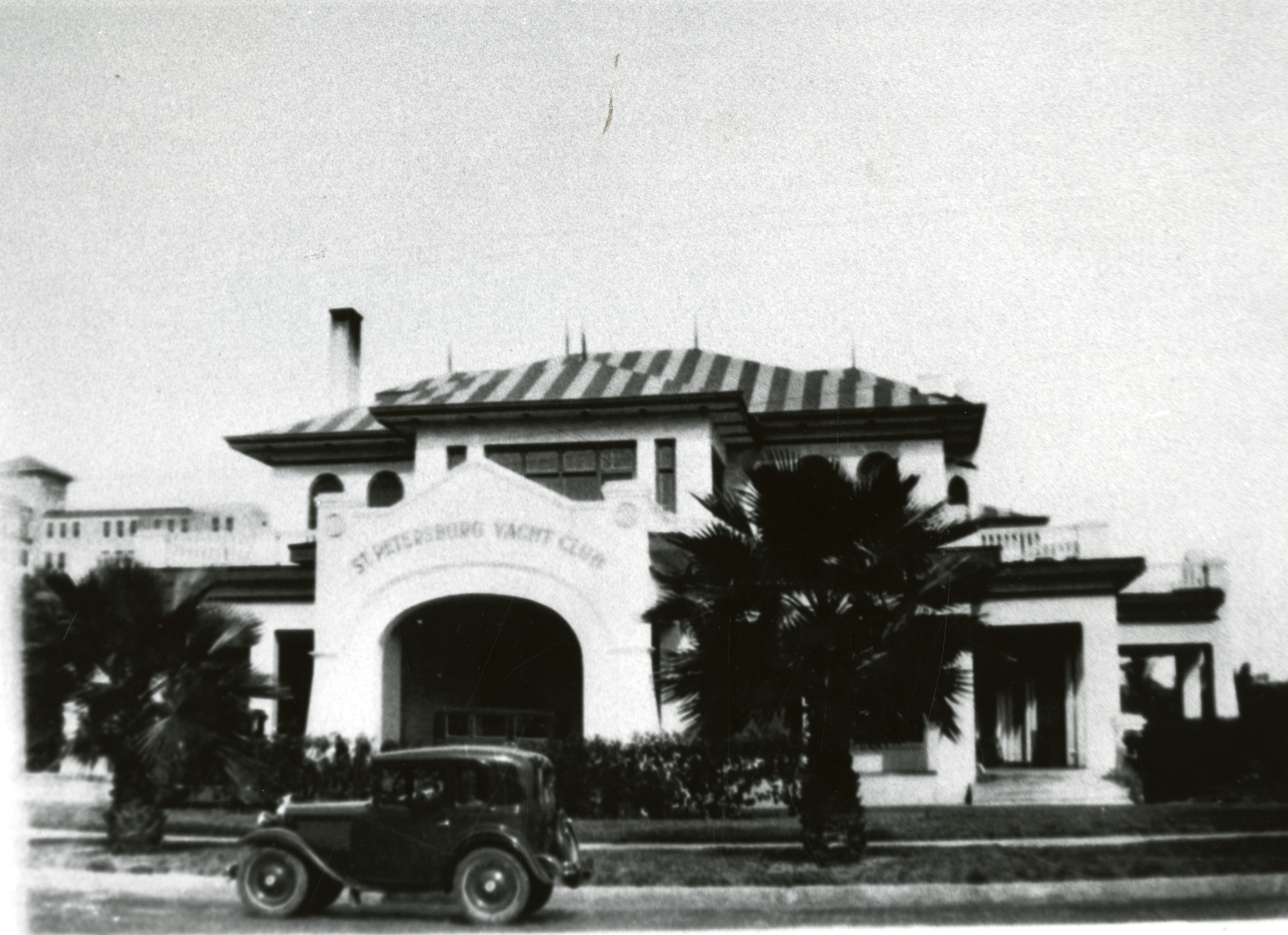 St. Petersburg Yacht Club, St. Petersburg, Florida, circa 1930.