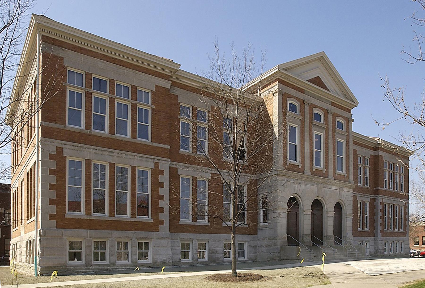 Original building of Purdue School of Agriculture