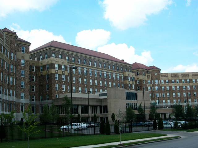 This historic building was the largest African American hospital during the era of segregation. The hospital closed in 1979, and the building is now used as an apartment community for seniors.