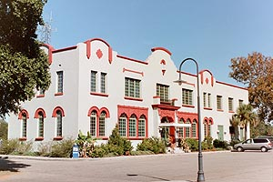 The Historic Train Depot has undergone a complete exterior and interior renovation following 2005's Hurricane Katrina