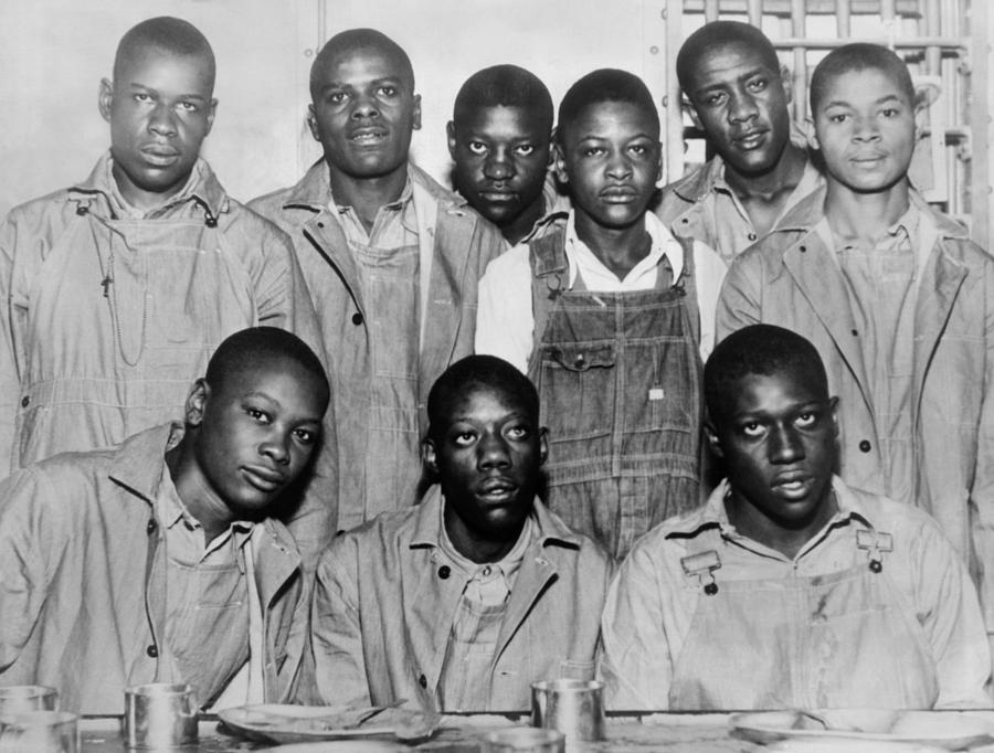 Picture of the Scottsboro Boys