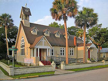 St. Cyprian's Historic Episcopal Church was established in the 1890s.
