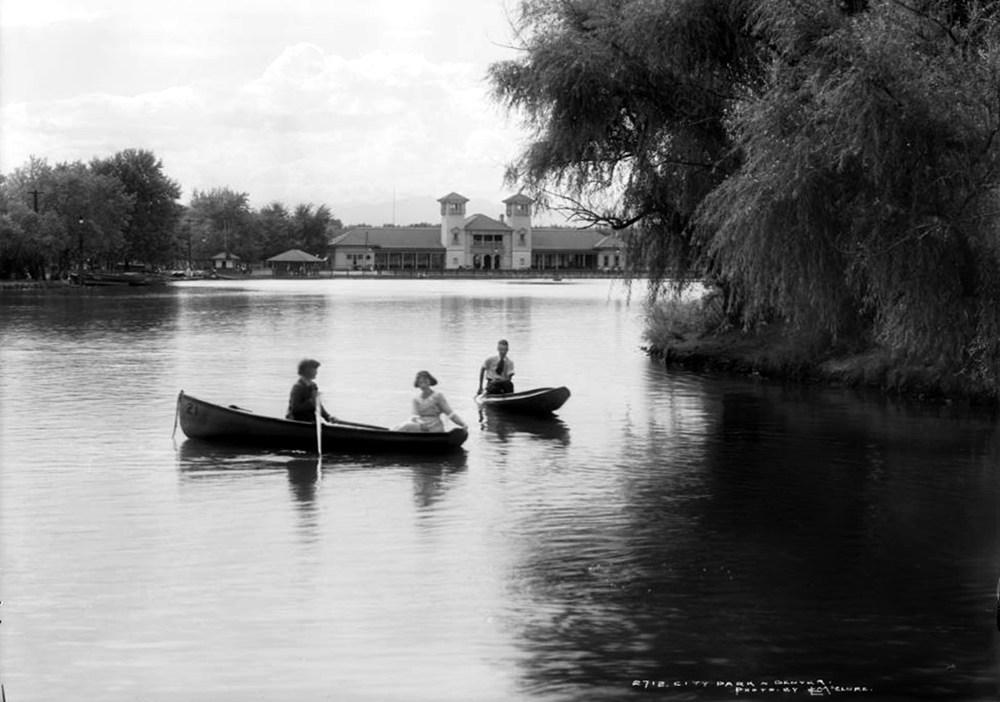 """""""City Beautiful"""" Image of Lake"""