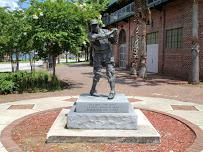 Buck O'Neil Statue at J. P. Small Memorial Stadium
