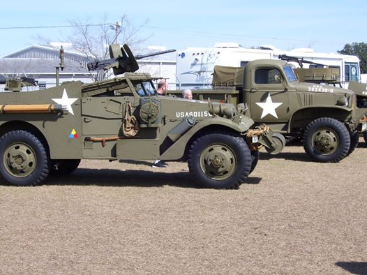 Military trucks as well as airplanes can be found here at the site of the airport and museum.