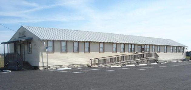 The museum is located in a former building of the historic airfield.