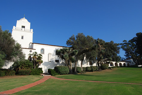 The San Diego Presidio Park and Museum today