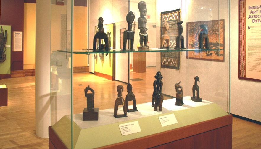 One of the Many Collections on Display