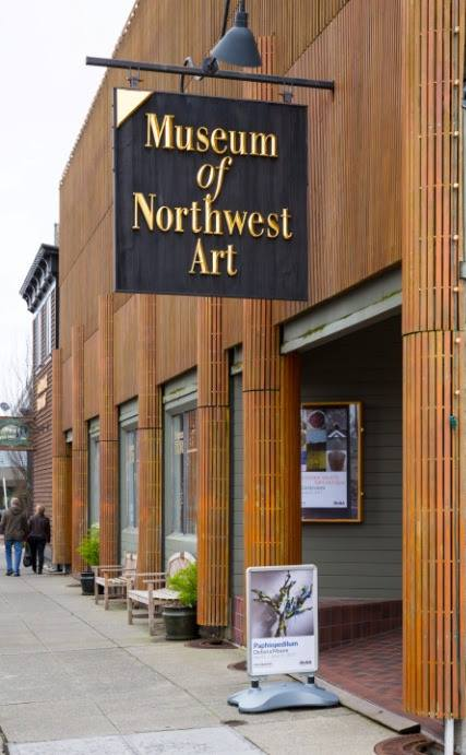 The Museum of Northwest Art was founded in 1981 and showcases art from the Northwest region.