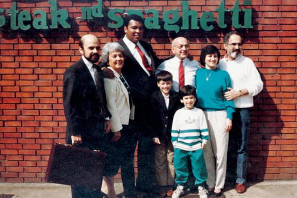 Muhammad Ali visited Jim's in 1994