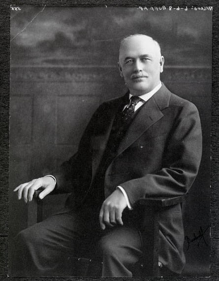 A Picture of C.H. McLeod from 1910. McLeod would become Andrew B. Hammonds right hand man in building the empire of the Missoula Mercantile Co. Image courtesy of mtmemory.org