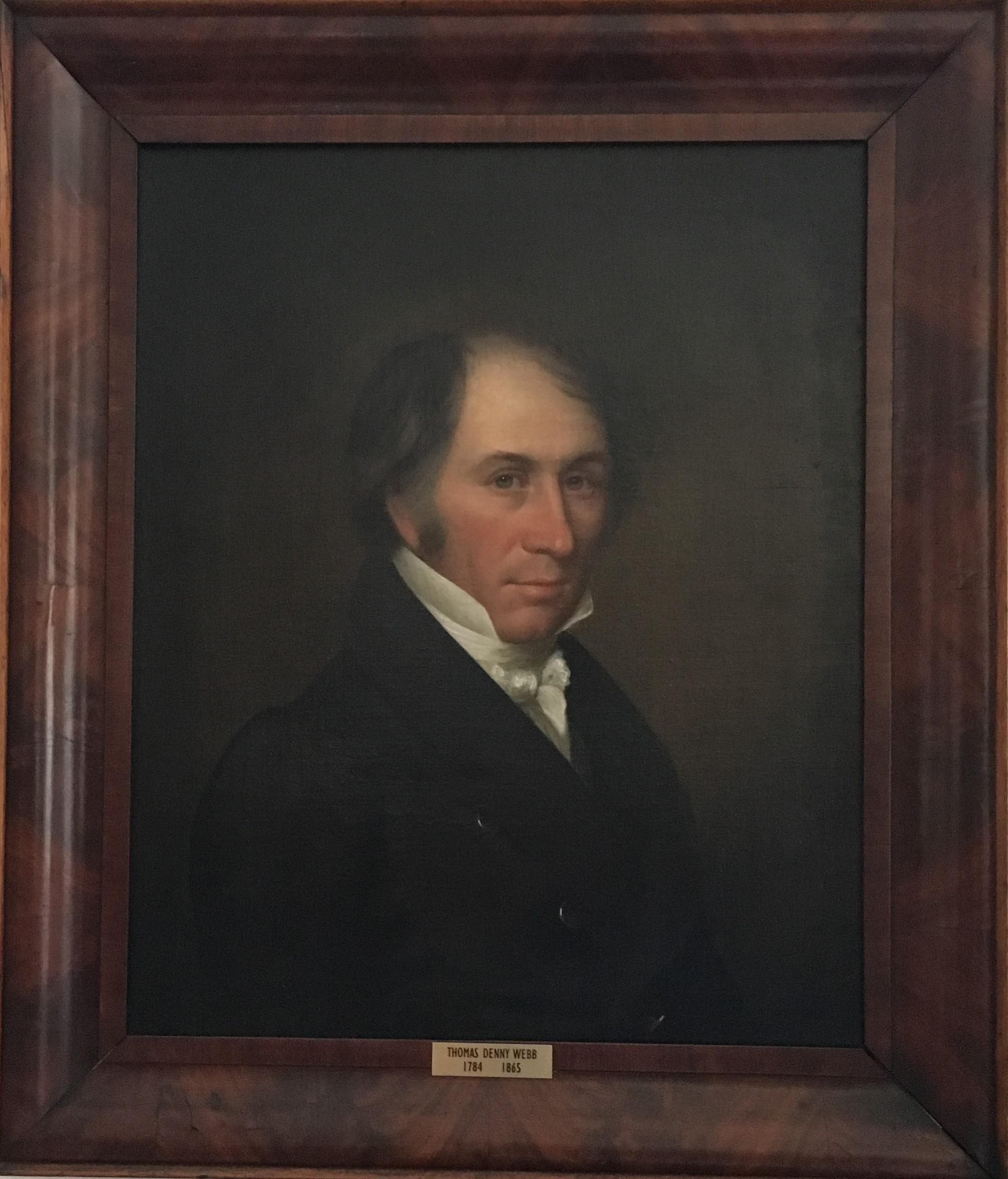 Portrait of Thomas Denny Webb