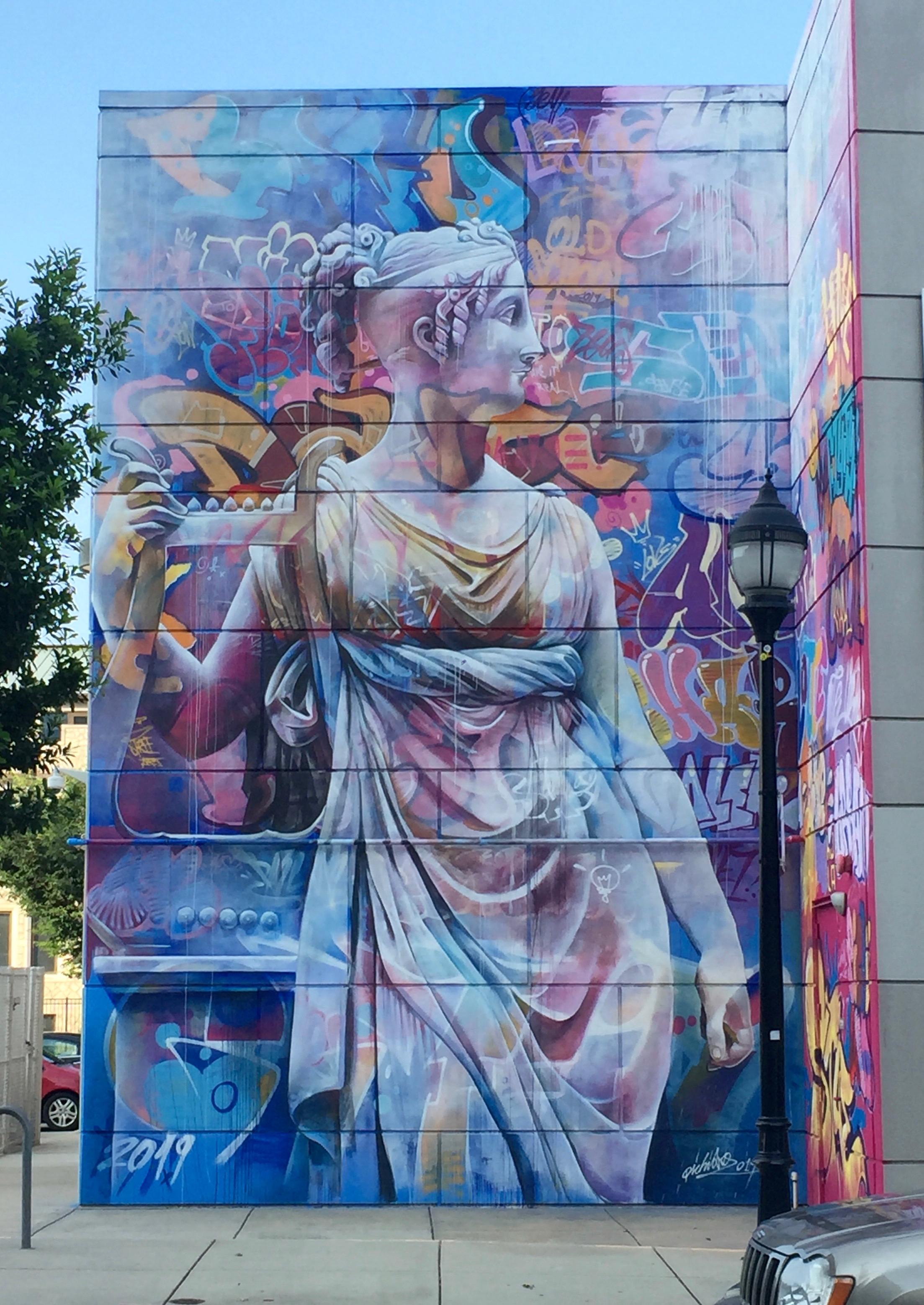 Azure, Pink, Art, Artist