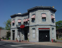 Steamer Company No. 5 (fire station) building as it looks today found in the District.