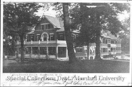 West Virginia Asylum, circa 1913