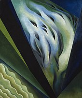 O'Keeffe's Blue and Green Music (1921)