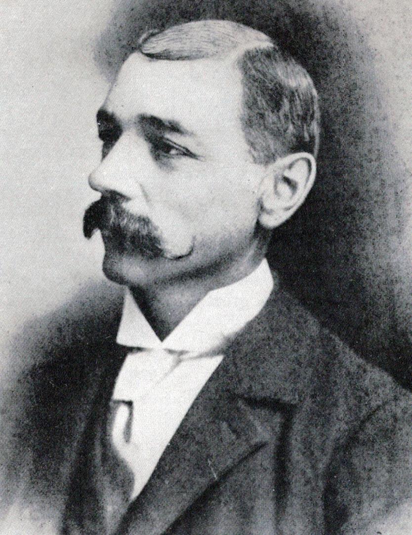 George Burr portrait, 1907