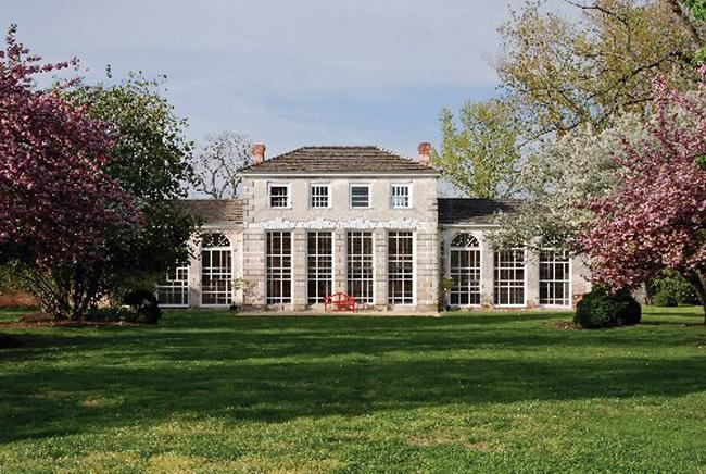Slaves at the Wye Plantation conducted early agricultural experiments on citrus trees, herbs and medicinal plants within the orangery.