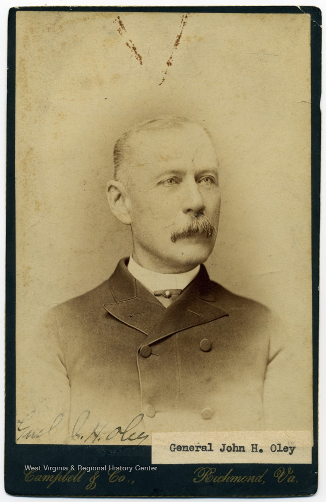 Portrait of General Oley