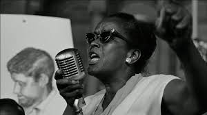 Ella Baker giving speech