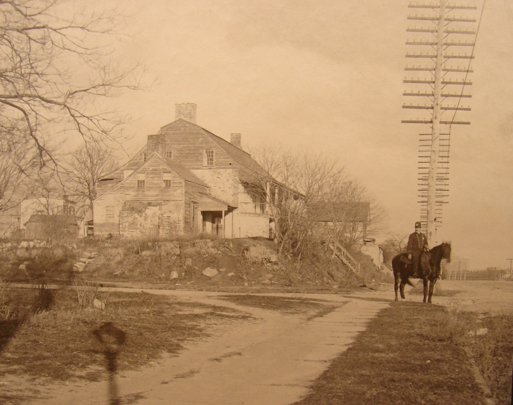 Historic Image of the Dyckman Farmhouse, ca. 1800s