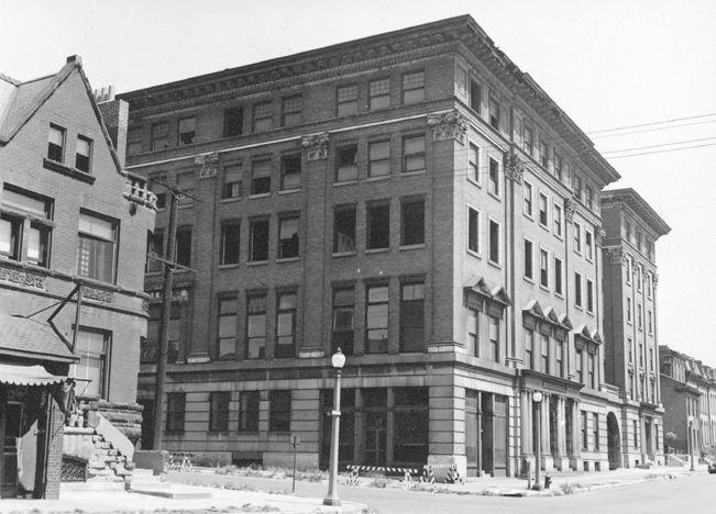 City Hospital No. 2 in 1938, a year after it was shut down