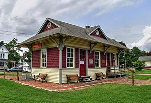 Eastern Shore Railway Station