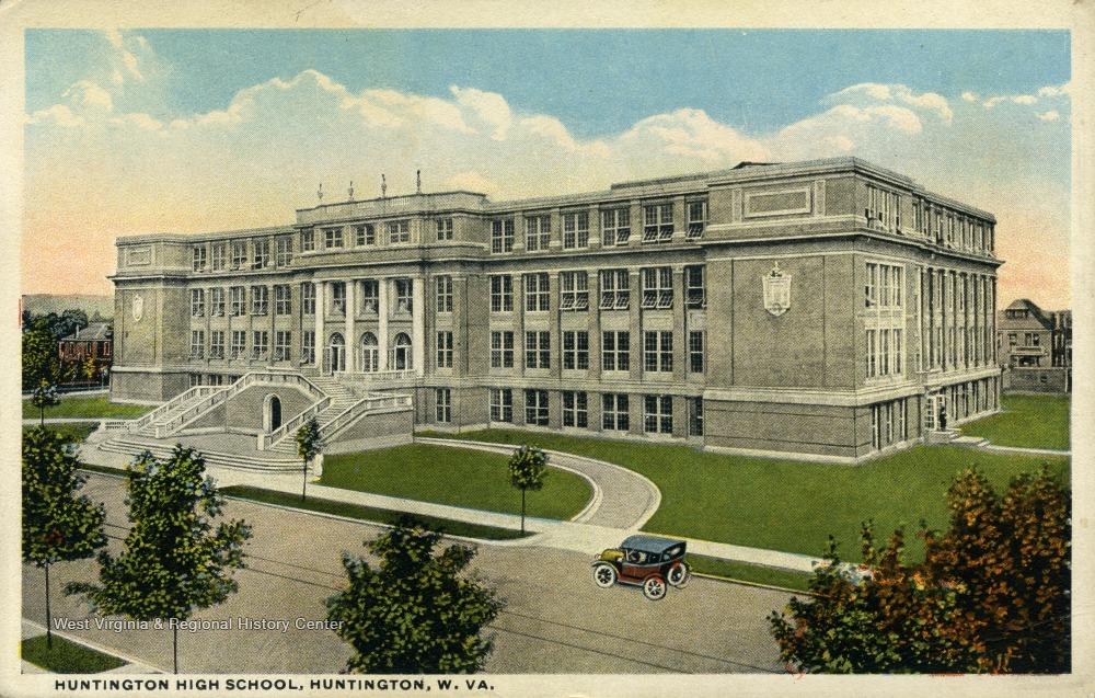 Postcard of Huntington High School