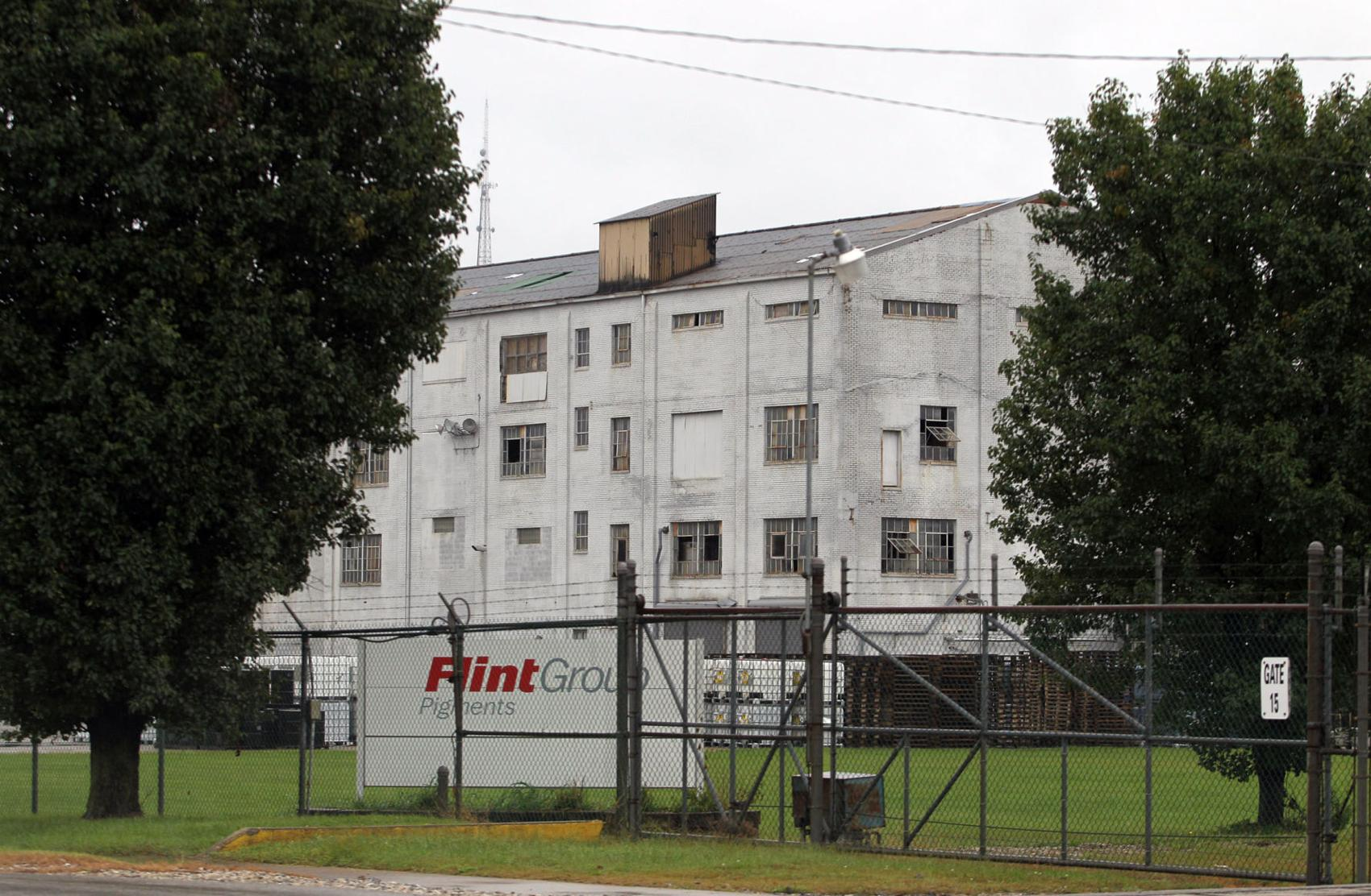 The Flint Group Pigments plant, circa 2017