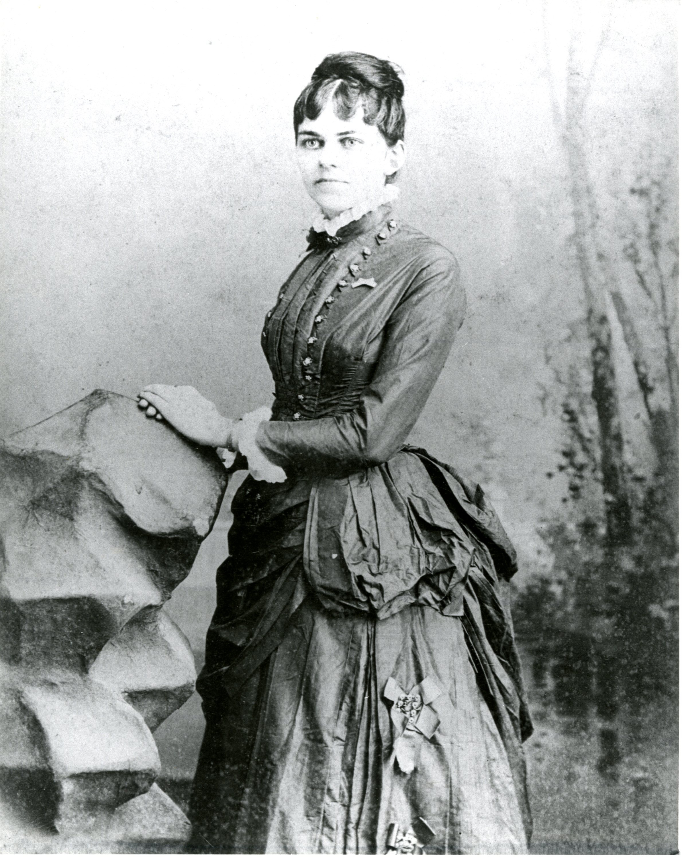 "Nancy Ann ""Nannie"" McMullen, Tampa, circa 1900."