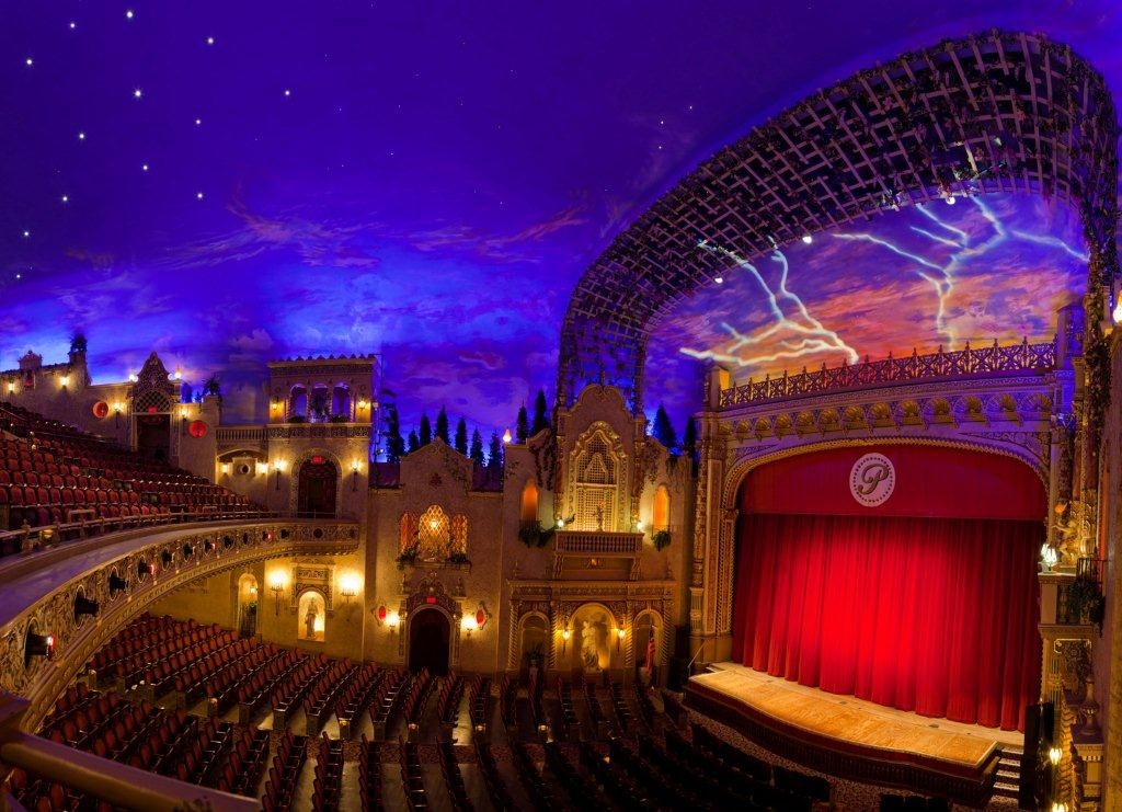 The Inside of the Paramount Theatre