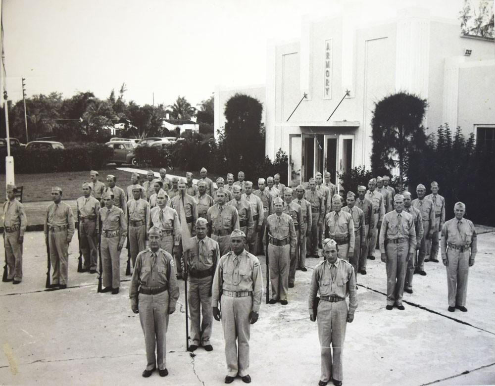 Photograph, Military uniform, Military person, Building